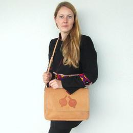 sac en cuir naturel fait à Kaboul