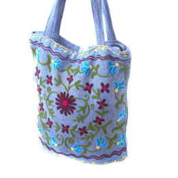 Thick cotton shopping bag