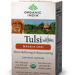 Tulsi chai masala, organic and spicy