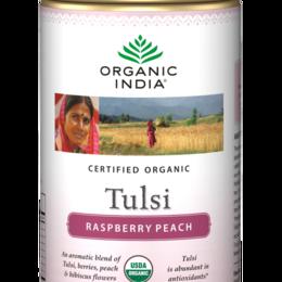 Tulsi Raspeberry Peach Blend - 100g - by Organic India