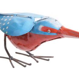upcyling kingfisher by shona art Zimbabwe