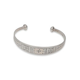 Tuareg Silver Bracelet from Niger
