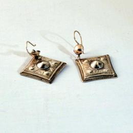 Tuareg silver earrings - fairtrade and handmade from Tuareg in Niger - Gundara