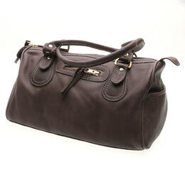 chocolate color handbag