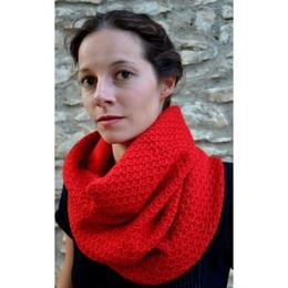 Gundara - baby alpaka - loop shawl - fair trade from Peru