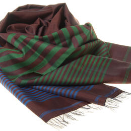 Pure Silk Scarf Handmade in Afghanistan