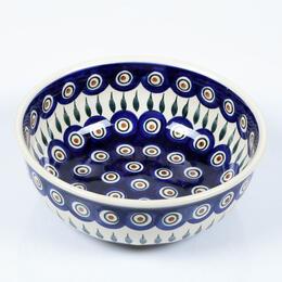 peacock eye salad bowl - 22cm