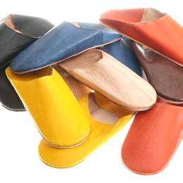 babouches sheep leather and camel sole