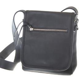 Shoulder- Black leather - Jackal and Hide