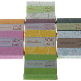 soil and earth ayurveda soap