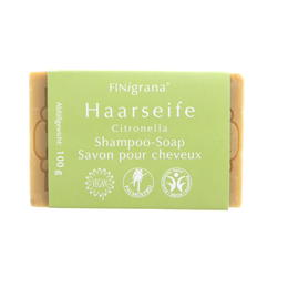 Citronella Haarseife als Alternative zu Shampoo