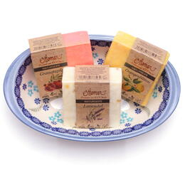 scented natural olive oil soaps