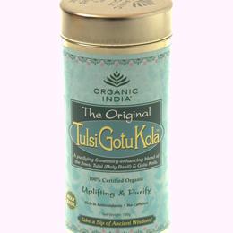 Tulsi Gotu Kola - Organic India - 100g