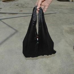 Gundara - Sac à Main Burqa Noire par Zardozi - fait au Pakistan par des réfugiés