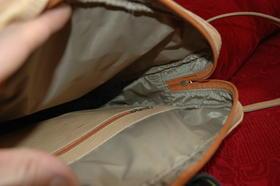 L'intérieur du sac est doublé - Gundara