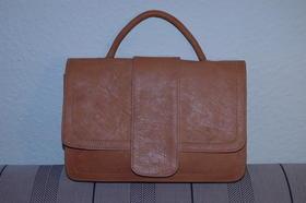 Miss 50's - handbag - made in Afghanistan - natural leather - Gundara