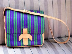 Gundara - Chopan Laptop Bag - messenger bag - chopan material - genuine leather