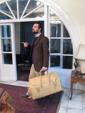 Big Traveller - sac en cuir