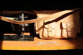 Gundara - Patricia - sac artisanal - cuir naturel