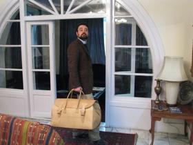 Big Traveller, sac de voyage en cuir