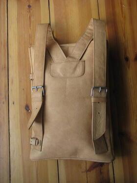 Gundara - Seidenstrasse - Lederrucksack aus Afghanistan - Fairchain