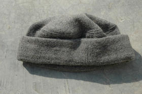 Zardozi - moderner Pakol - Wollmütze - aus Afghanistan