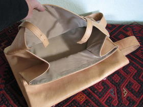 Gundara - Silk Road - folding technique - backpack - made in Afghanistan