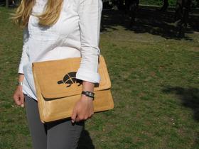 Gundara - Sangpush - document holder or laptop case- genuine leather