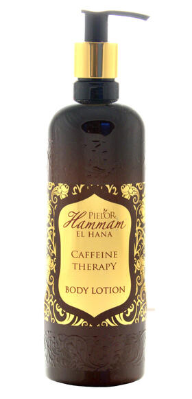 Body milk - Caffeine Therapy - by Pielor - oriental and reviving scent Ottoman