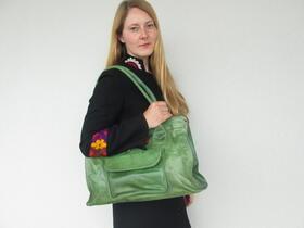 Grüne Tasche