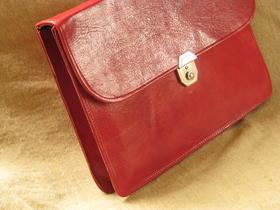 Gundara - briefcase Mariam - simple leather shopping bag - Burkina Faso - fair trade