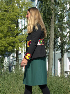 Gundara Design - short jacket - beautiful Afghan embroidery