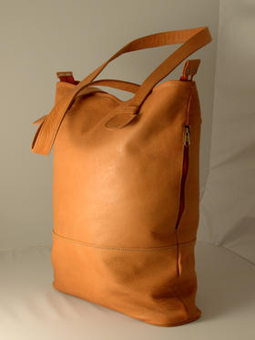 Gundara - Weekender Ehsan - fair trade from Afghanistan - naturally tanned leather