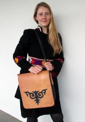 natural leather bag