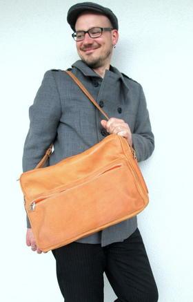 sac vintage en bandoulière