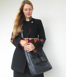 sac vintage noir