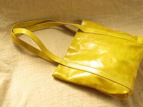 un sac de courses artisanal et équitable