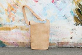 sac en cuir naturel - Gundara