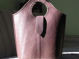 Shopper Choco - sac de courses en marron - Gundara
