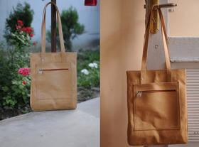Shopping bag Sofia - simple et elegant - photo credit Casey Johnson - Gundara