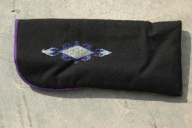 Zardozi - Ainak - spectable case - cotton - hand-embroidered