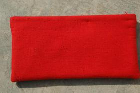 Gundara - Sharifa - Small cosmetics pouch bag with Silk stripe