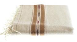 Sand color woolen schawl