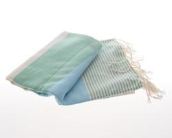 Apollonia hammam clothe green blue