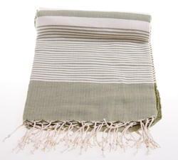 Kaki color hammam towel