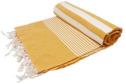 corn yellow herike towel
