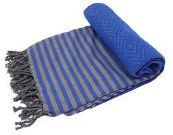 royal blue hammam towel