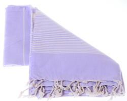 Lila color herike cotton hammam towel