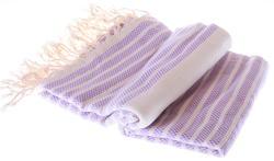 Marmara style 100% cotton hammam towel in lila