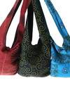 printed lama bags from Nepal cooperative local women's handicraft